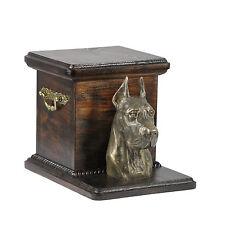 Deutsche Dogge, Urne, Kalte Bronze, ArtDog, CH, Type 2