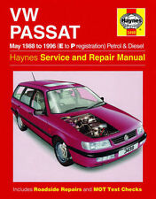 HAYNES  VW PASSAT MAY 98 - 96 E TO P REGISTRATION PETROL AND DIESEL