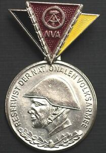 East Germany: NVA Reservist Service Medal in Silver