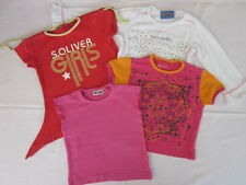 Mädchen Gr. 92, 92/98, 98 Baby --> 4-er Paket: 3 T-Shirts + 1 Sweatshirt Langarm