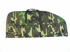 """bow case, strong fabric & straps, camo, 43"""" x 19"""", thick-padding"""