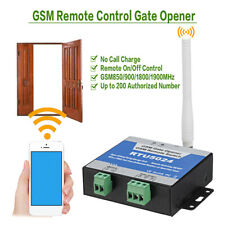 RTU5024 GSM Gate Opener Relay Remote Control Door Access Switch Free Call