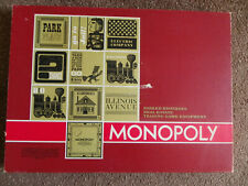 Rare Vintage Parker Brothers Monopoly 1960's From The USA - Complete