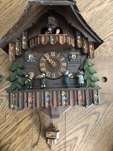 Vintage Germany Cuckoo Clock - For Parts or Repair