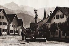 1924 Vintage Germany Partenkirchen Florian Square Horse Village Art By Hielscher