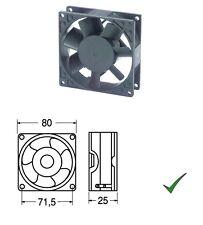 Ventola di Raffreddamento Ventilatore 24V su Bronzine 80x80x25mm