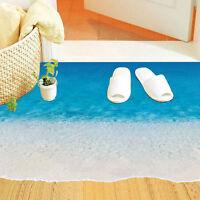 Entfernbarer Strand Meer Wand Aufkleber Fußboden Aufkleber Wand Wohnzimmer Haus