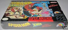 Spider-Man and The X-Men in Arcade's Revenge (SNES) Brand new!