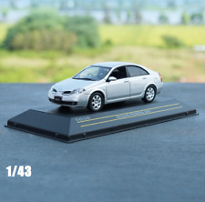 J-Collection 1/43 Scale Nissan Primera 2.0C 2001 Silver Color Alloy Model Car