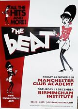 The BEAT Poster Manchester / Birmingham GIG Poster 2-Tone SKA Original ONE ONLY!