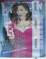 KERI RUSSELL June 2007 INTERVIEW Magazine SETH ROGEN  ELLEN PAGE  ELI ROTH New!