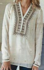J.jill Shirt 4x Printed Gossamer Shirt