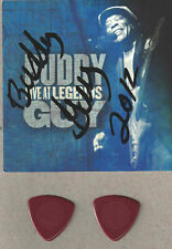 Buddy Guy - Signed Live at Legends CD Booklet and tour guitar pick