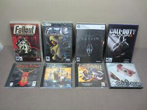 PC Game Lot - 8 Games - Fallout - Sanitarium - See Description For Details