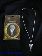 """Lord of the Rings Movie Arwen Evenstar Necklace Licensed 24"""" Chain"""
