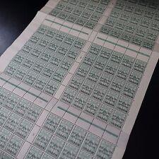 FEUILLE SHEET NOUVELLES HEBRIDES N°15 x150 MILLÉSIME 8 NEUF ** MNH COTE 517€