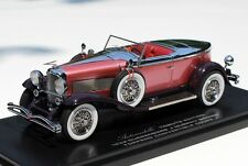 1929 - 1932 Duesenberg J Murphy Torpedo by Automodello Diecast Model