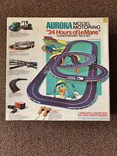 Aurora 24 HOURS OF LEMANS Race Set #1330  Model Motoring HO Flamethrower