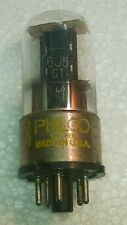 PHILCO 6J5GT GLASS TUBE - MADE IN USA