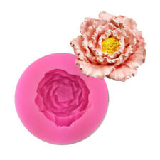 Template Cake Baking Flower Fondant Mould Party Favors Chocolate Lotus Mould 6T