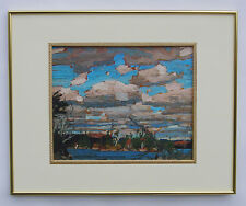 "Tom Thomson, Group of Seven ""Ragged Lake"" in Gold Frame"