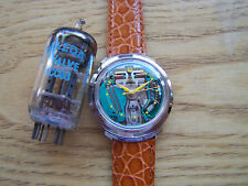 Accutron 214,1962 Yellow Dot Turtle-Lug SPACEVIEW Tuning Fork Superb Condition!