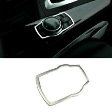for BMW X6 E71 2008-2014 Silver Interior Decoration Multi-media Button Cover