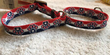 "July 4th Patriotic Paws Martingale Dog Collar by Yellow Dog Design Small 10""-14"""