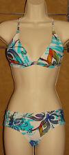 BODY GLOVE - 2 pc - Multi Color Blue - SEXY - Hipster BIKINI Swimsuit sz XS / S