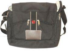 NEW Wenger Briefcase Black Messenger Bag Laptop Computer Case Executive Office