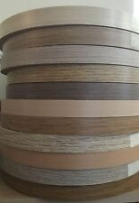 22mm Pre-Glued Iron On Edging Melamine Veneer Tape Beech,Maple,Oak,Walnut&more