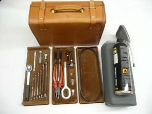 Ferrari 5.2 Motronic 355 Leather Tool Repair Kit Case Box Collectable 137722 OE