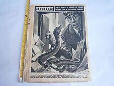Arena magazine 203 1964 Croatia Yugoslavia rare damaged