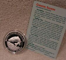 Chinook Salmon - North American Fishing Club - National Grand Slam w/ Info Card