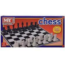 Nuevo juego tradicional de tablero de ajedrez damas diversión familiar 36 cm Conjunto de mesa Classic Home