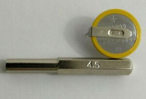 Embout tournevis Gamebit 4.5 mm + Pile sauvegarde CR2032 Sega Megadrive Sega 32X