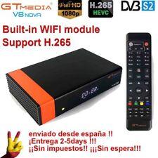 Gtmedia V8 Nova DVB-S2 FTA Satellite receiver HD 1080p TV receptor built-in WiFi