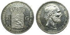 Netherlands - 2½ Gulden 1869 - Willem III