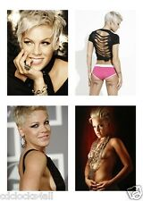 4 - Alecia Beth PINK Moore 5 x 7 GLOSSY * 4 Photo Picture - 5x7