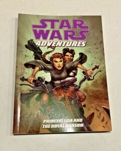 STAR WARS ADVENTURES COMIC BOOK Princess Leia and The Royal Ransom