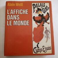 L'affiche dans le monde par Alain Weill  Année 1984