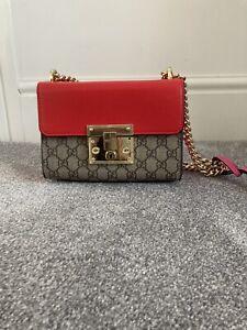 Authentic Gucci Padlock Shoulder Bag
