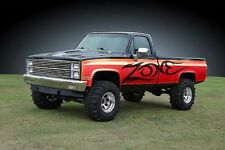 "Zone 6"" Lift Kit 73-87 Chevy/GMC Pickup & SUV 1/2 ton C19N W/NITRO SHOCKS"
