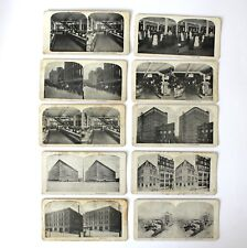 Vintage Lot Stereoscope Photo Cards T. Eaton Company Canada Toronto Winnipeg