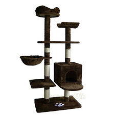 """52"""" Cat Pet Tree Tower Scratcher Post Furniture Kitten Play Toy House Condo"""
