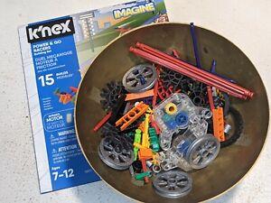 K'nex Imagine Power & Go Racers Building Set Cars 052621