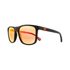 Emporio Armani Sunglasses Ea4129 5752f6 Matte Brown Orange Red Lens 56mm
