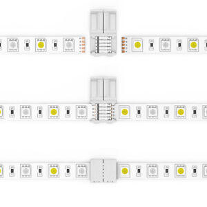 SUPERNIGHT® 5-Pin Strip-Strip Connectors Wire for 10mm 5050 RGBW Led Strip Light