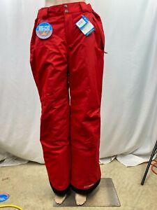 Columbia Mens Arctic Trip Omni-Heat Ski Pants, Red, M (18431010696)