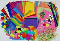 BUMPER Childrens ART & CRAFT Set Kids Creative Crafting Supplies Activity Pack